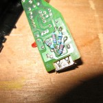 Voltage divider installed on data pins - Kludge-a-riffic